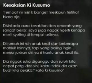 Kesaksian Ki Kusumo
