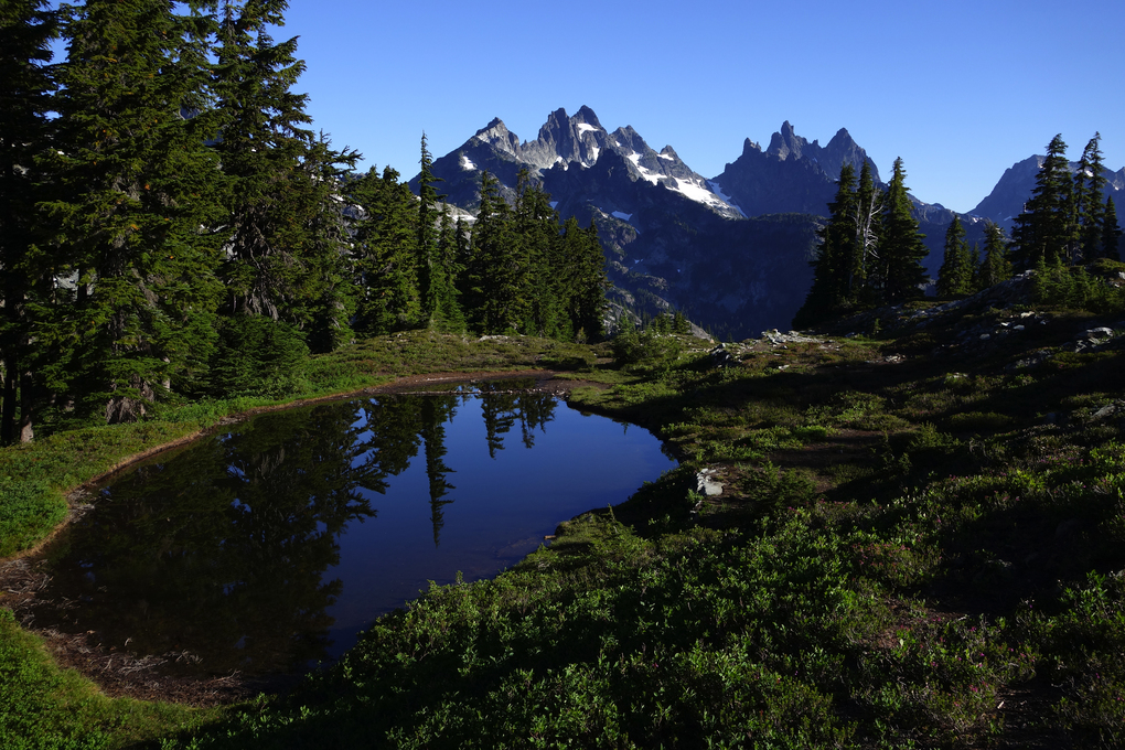Gunung Washington Crest Trail