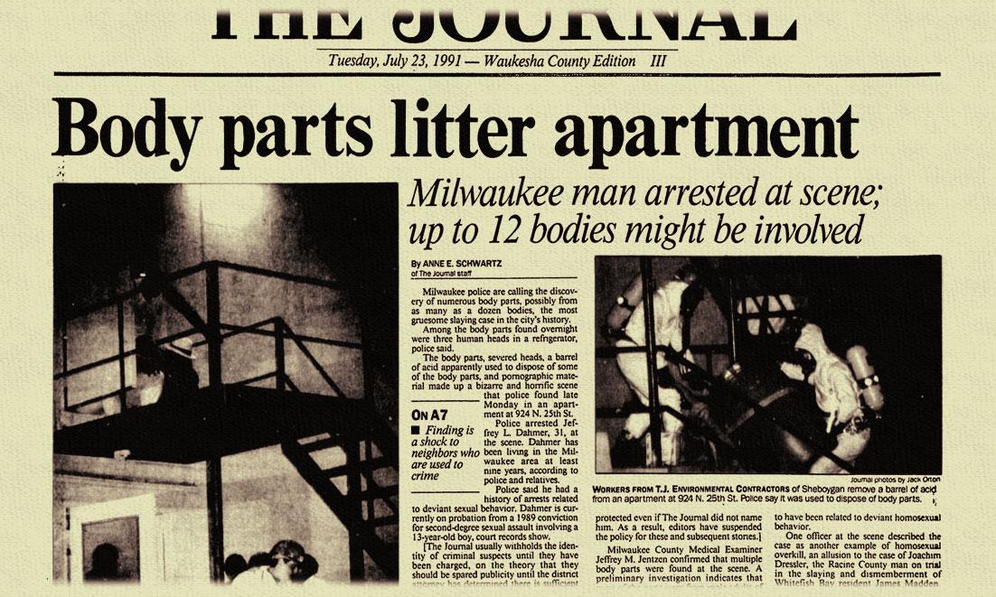 Jeffrey Dahmer Slain in Prison