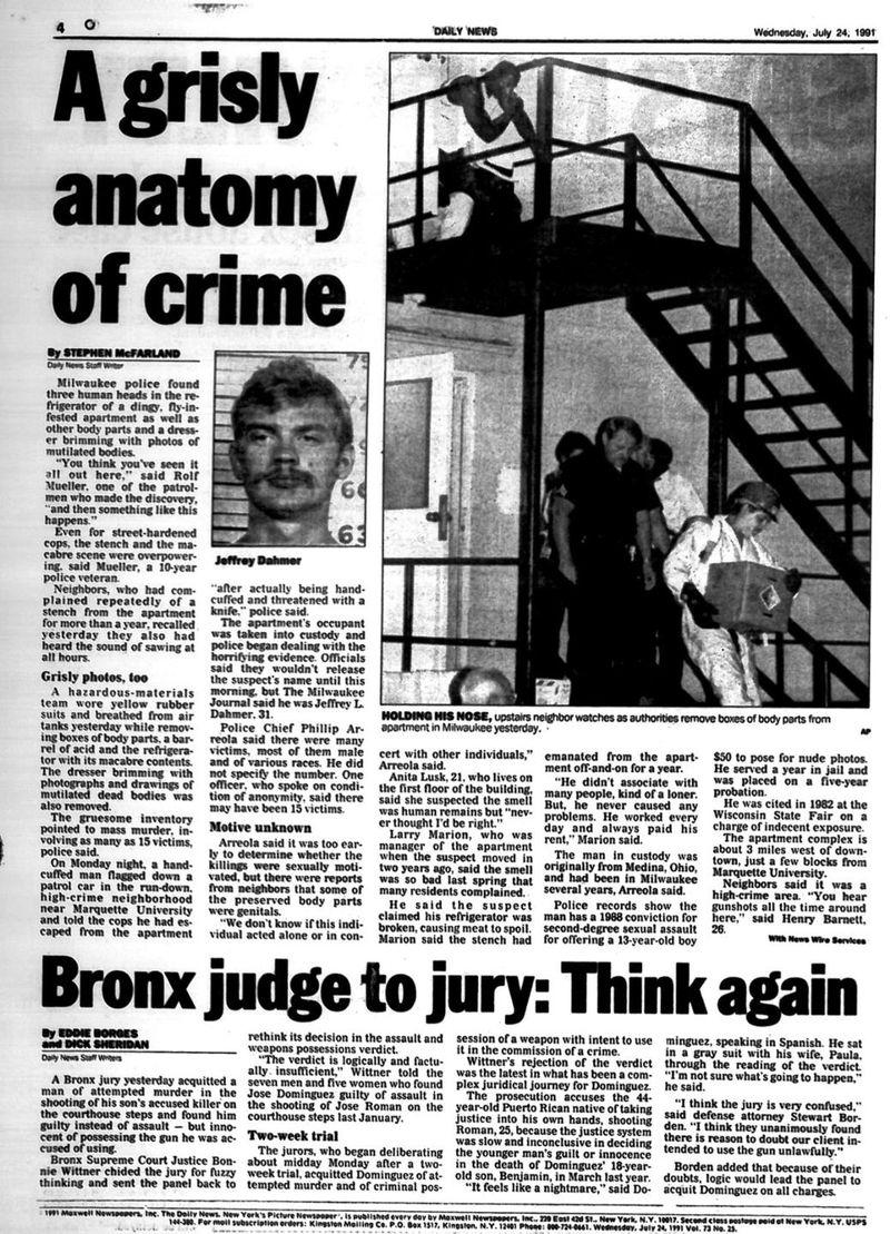 Kriminal Jeffrey Dahmer
