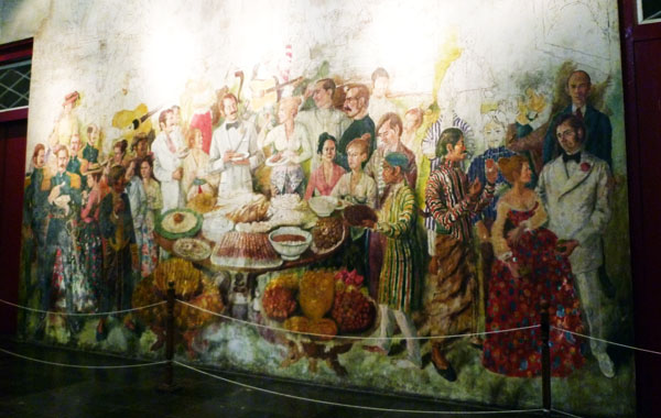 Mural diruangan Rahasia Museum Fatahillah