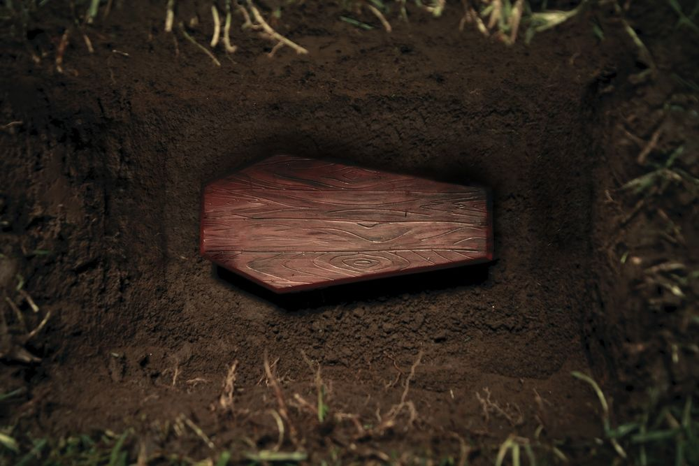 Peti Mati Dikubur