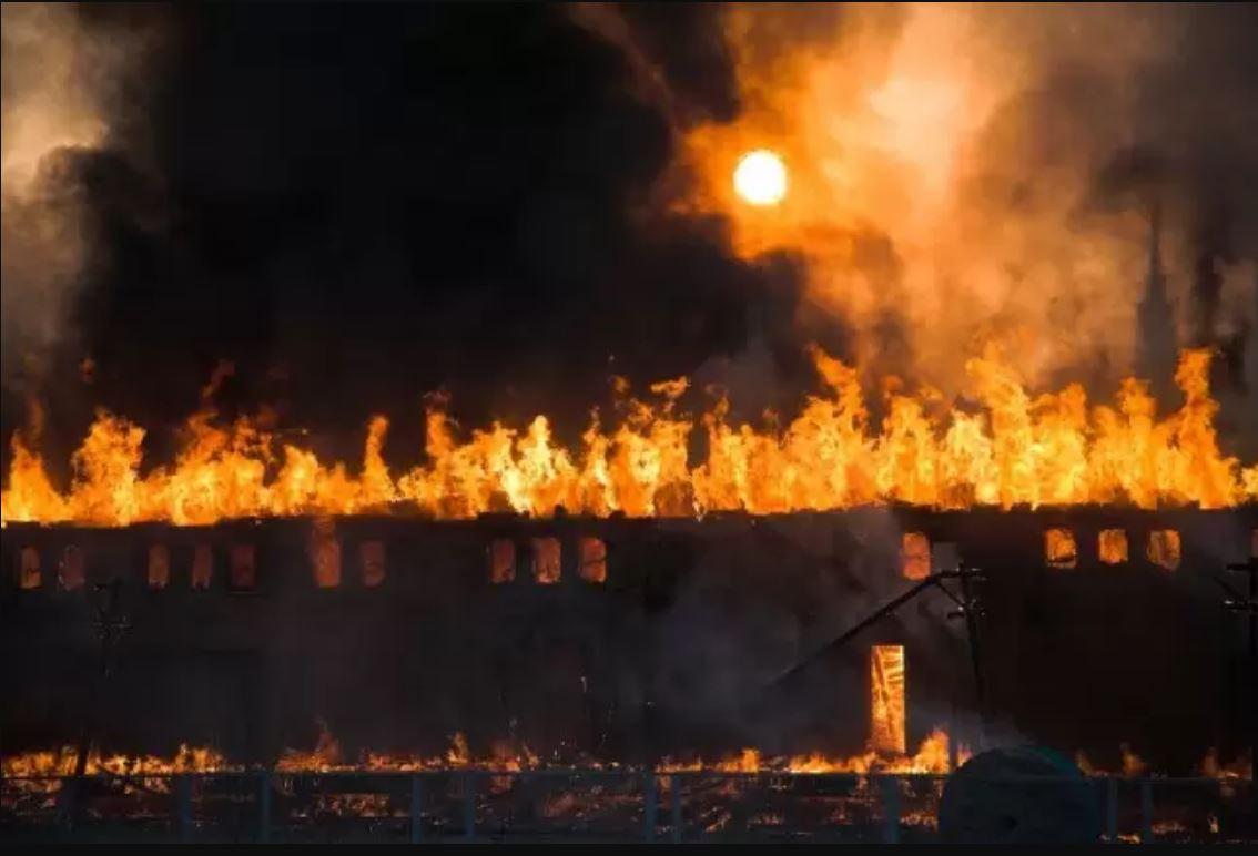 Rumah Sakit Terbakar