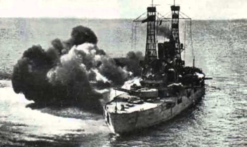 SS Ourang Medan Terbakar