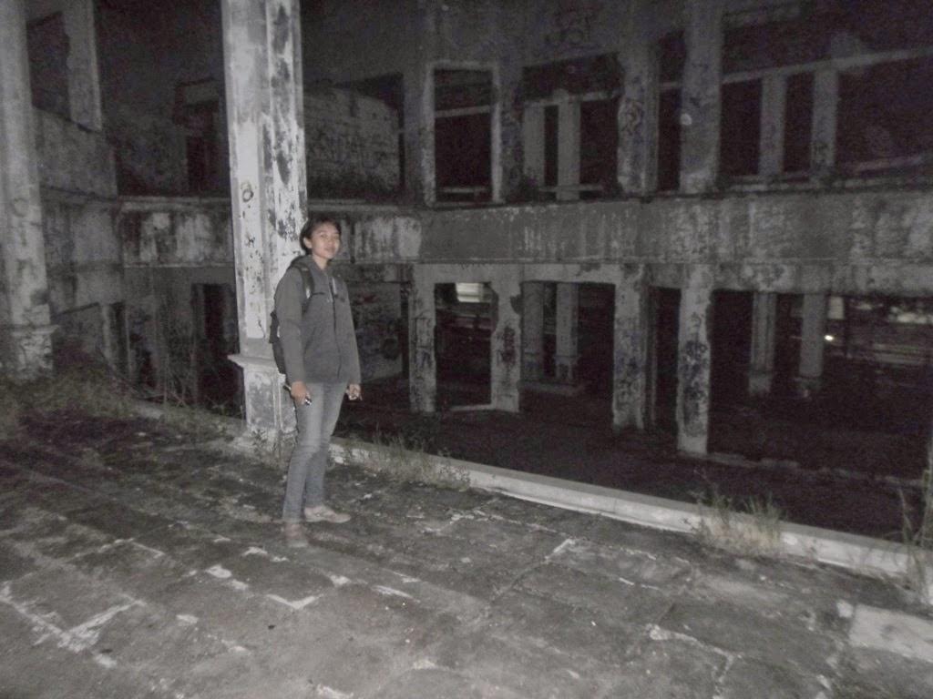 Seramnya Rumah Hantu Darmo