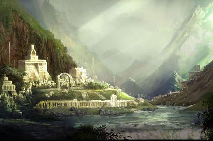 Kerajaan Jin di Kota Saranjana