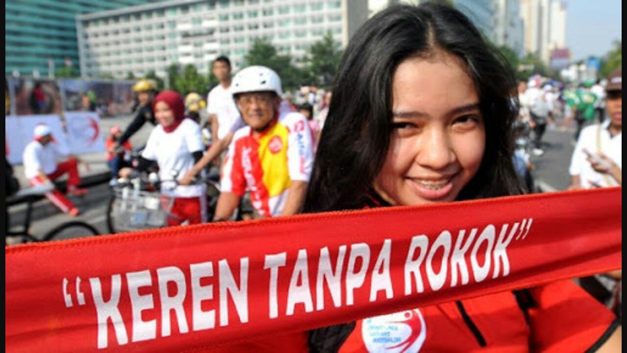 Dana Ratusan Triliun Untuk Kampanye Anti Rokok di Indonesia