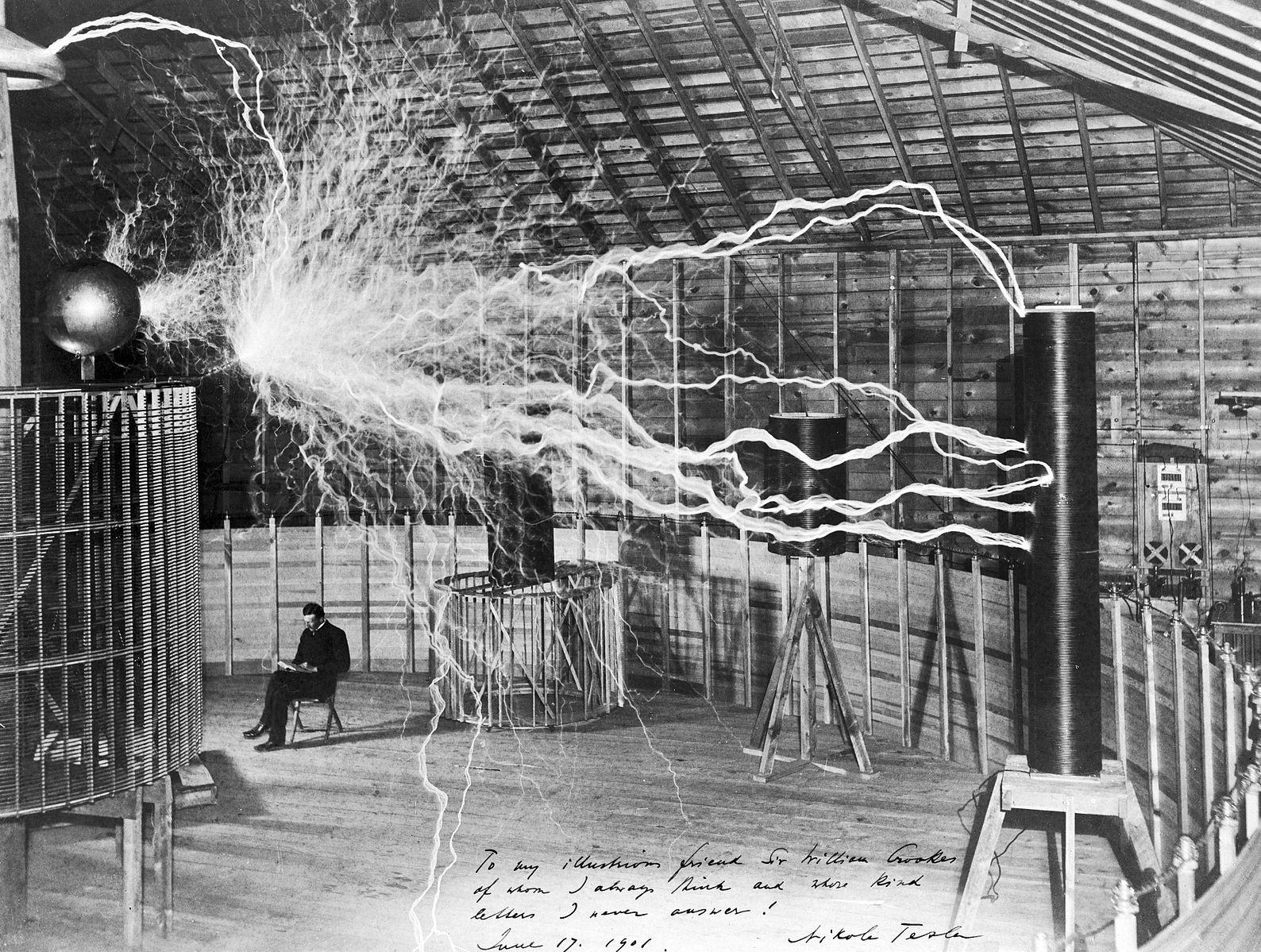 Nikola Tesla Memilik Lebih dari 300 Hak Paten