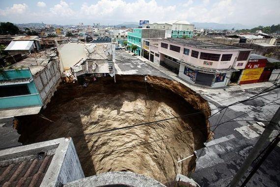 Guatemalan Sinkhole