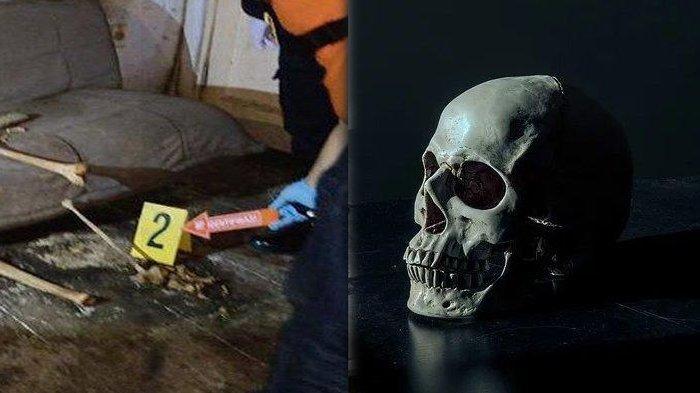 Misteri Kerangka Manusia Duduk di Rumah Kosong Bandung