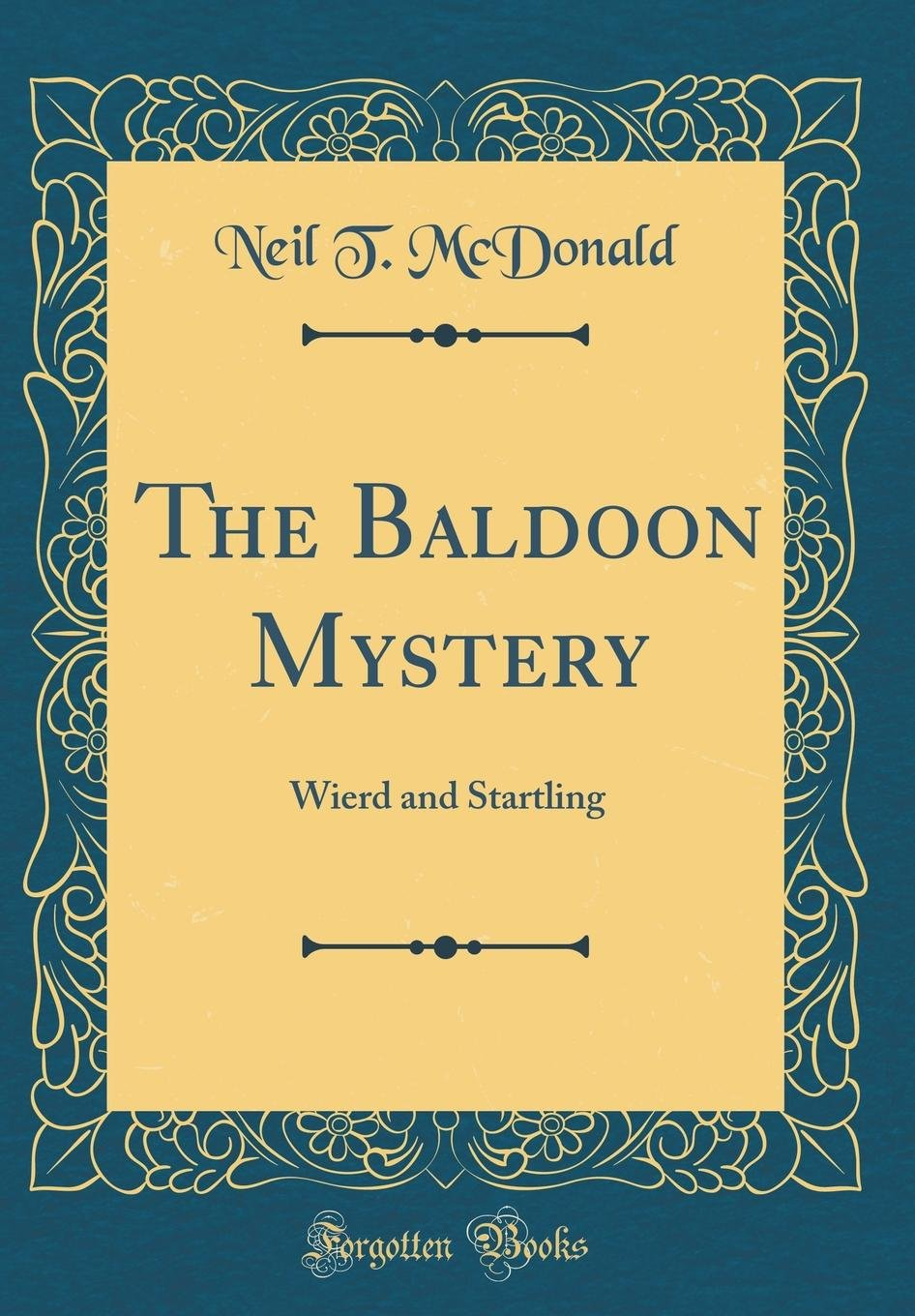 Buku The Baldoon Mystery