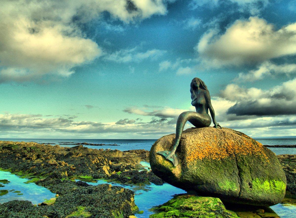 Mermaid di Pantai Utara Skotlandia