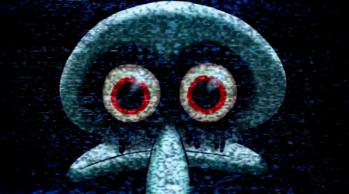 Squidward Bunuh Diri