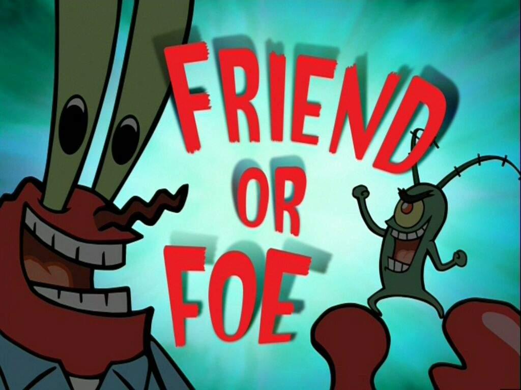 Tuan Krabs dan Plankton