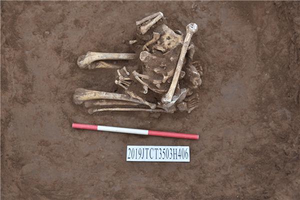 Tulang Manusia yang ditemukan di China