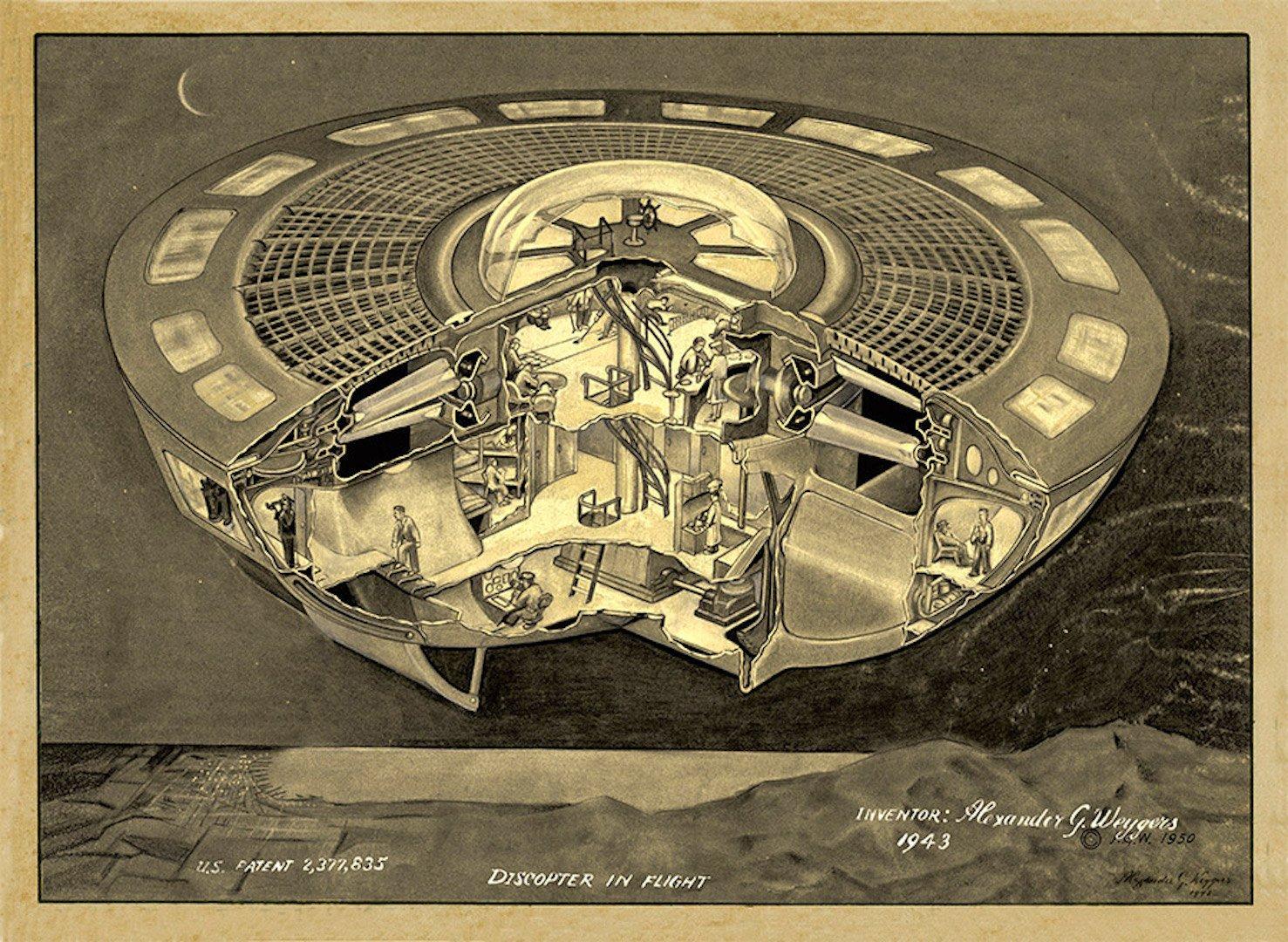 Kisah Kehidupan Aneh Sang Penemu UFO Pertama di Dunia.