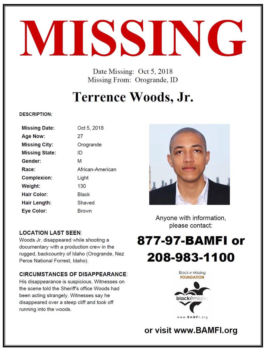 Misteri Hilangnya Terrence Shemel Woods Jr