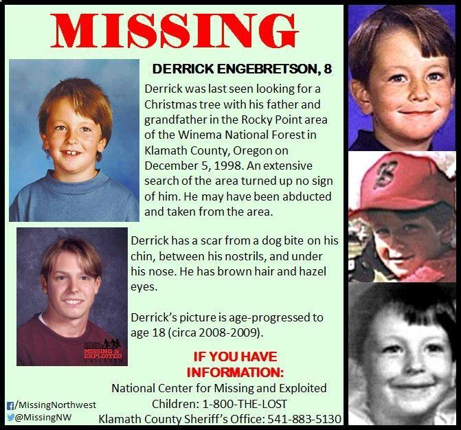 Misteri Mengilangnya Derrick Engebretson