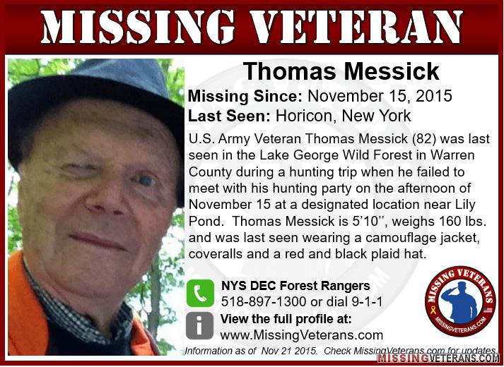 Kasus Orang Hilang Thomas Messick