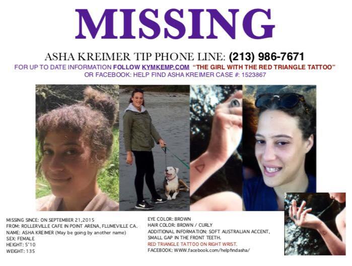 Hilangnya Asha Kreimer