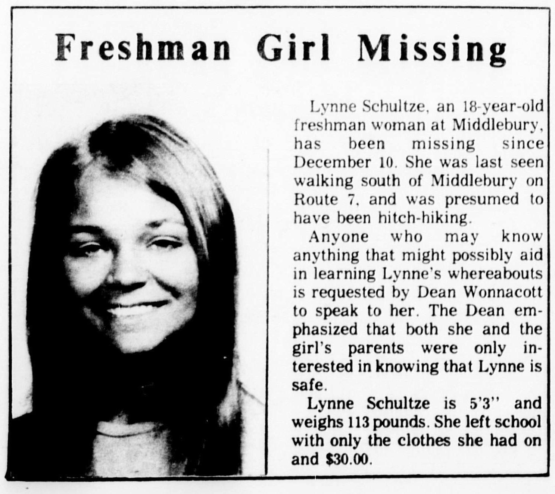 Misteri Hilangnya Lynne Schulze