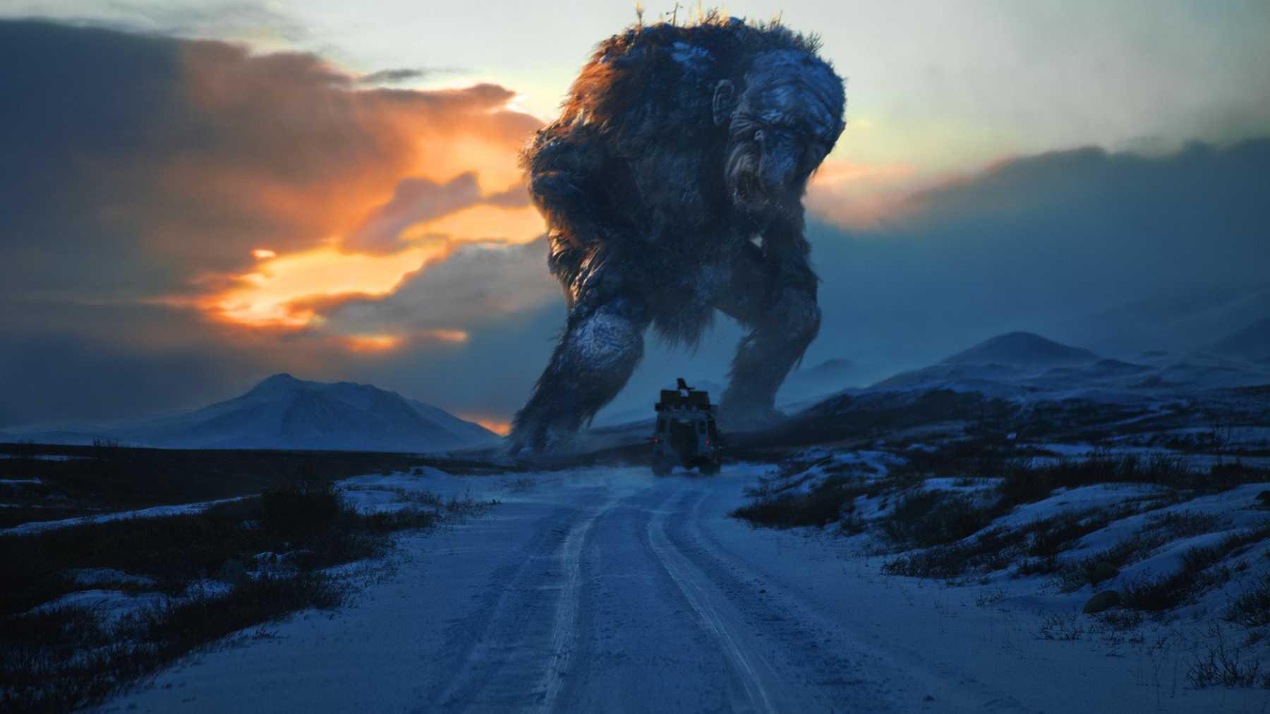 Film Monster Raksasa Trollhunter