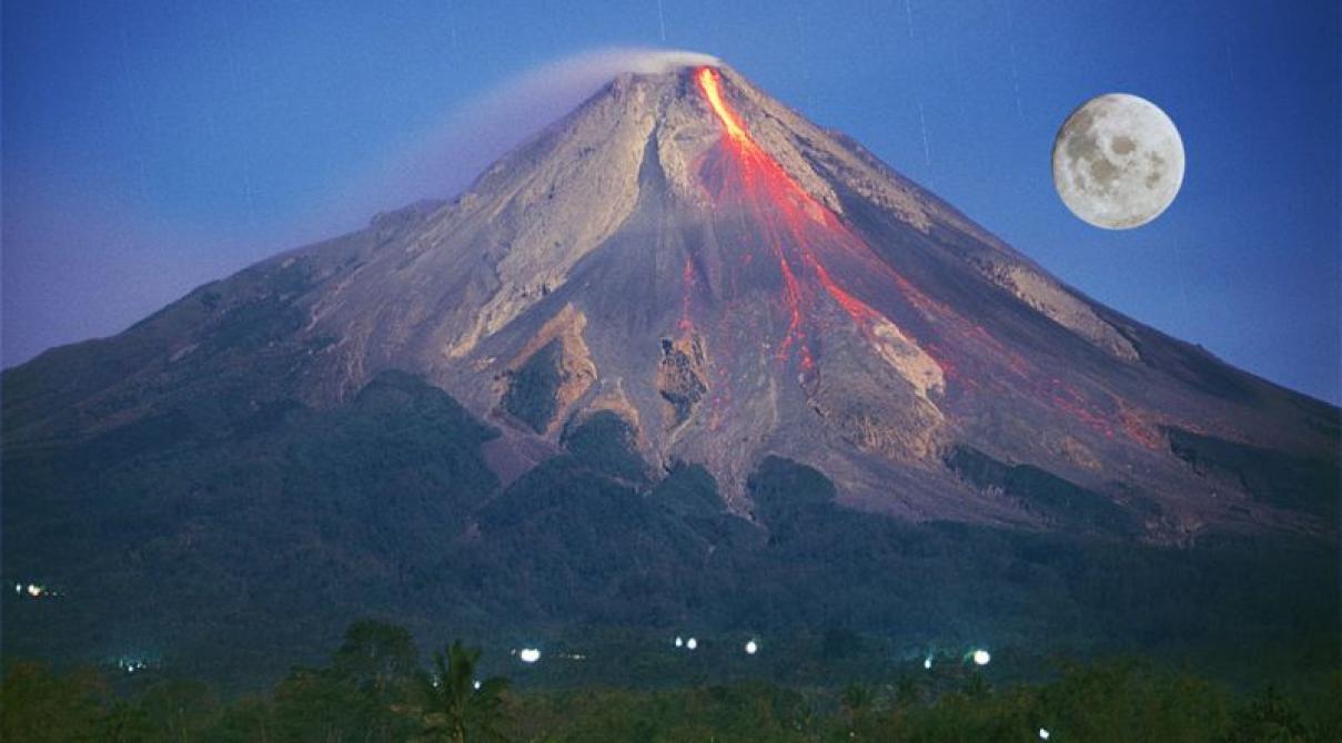 Gunung Merapi Angker