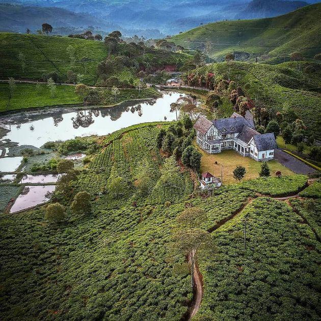 Keindahan Villa Jerman Bandung