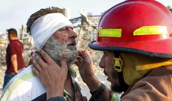Korban Ledakan Beirut Lebanon