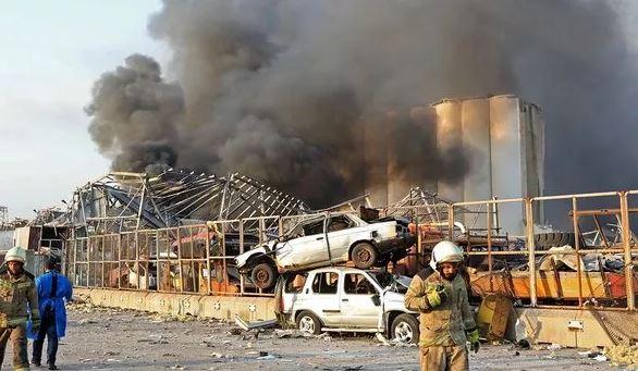 Ledakan Dahsyat di Beirut Lebanon