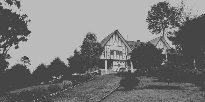 Misteri Villa Merah Pangalengan, Villa Jerman Bandung