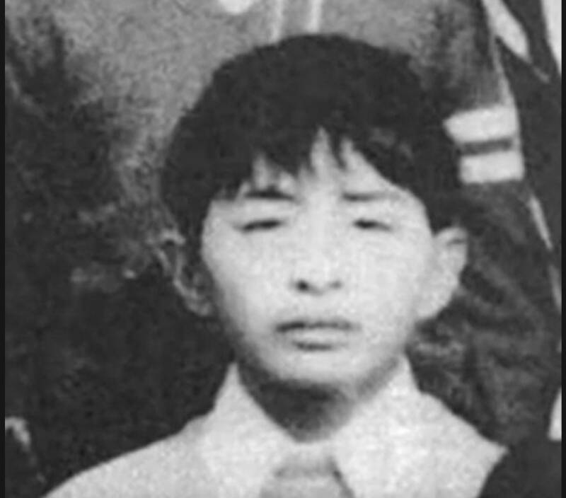Foto Masa Kecil Tsutomu Miyazaki