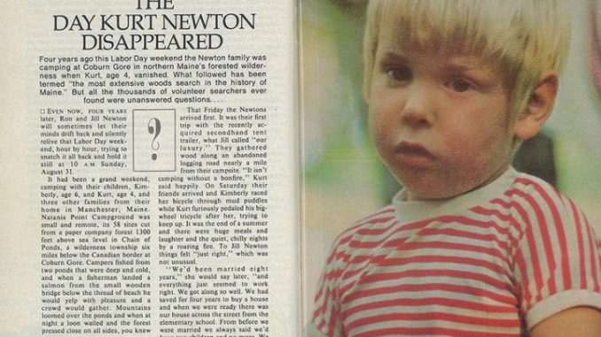 Misteri Menghilangnya Kurt Ronald Newton