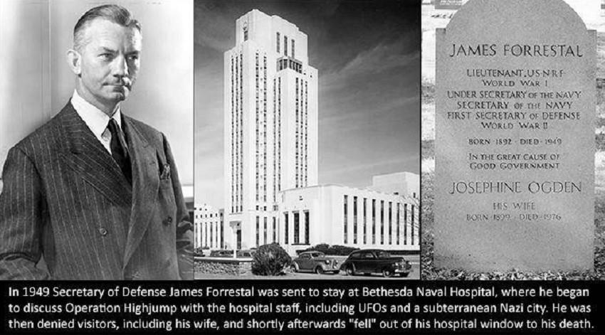 Kematian Misterius James Forrestal