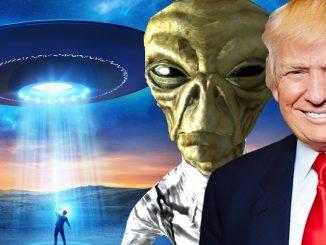 Jawaban Penuh Konspirasi Donald Trump Tentang UFO