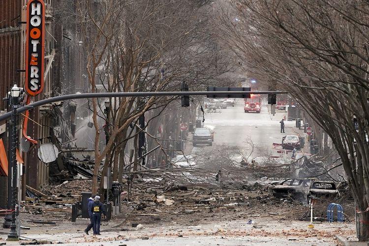 Ledakan di Nashville Amerika Serikat