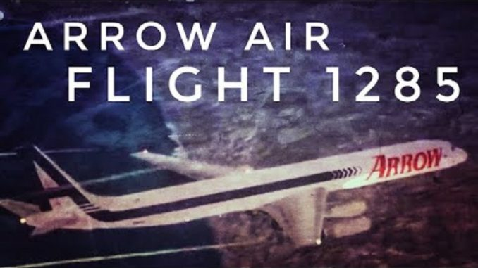 Misteri Kecelakaan Pesawat Gander, Arrow Air Flight 1285