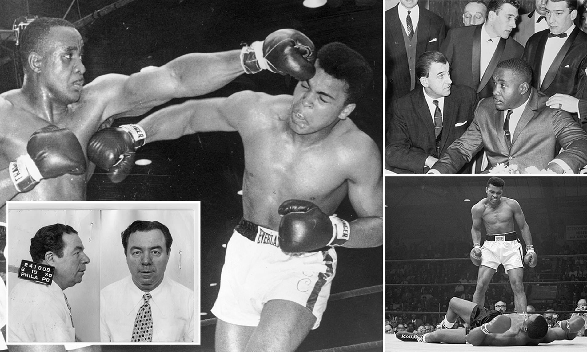Sonny Liston Melawan Muhammad Ali muda