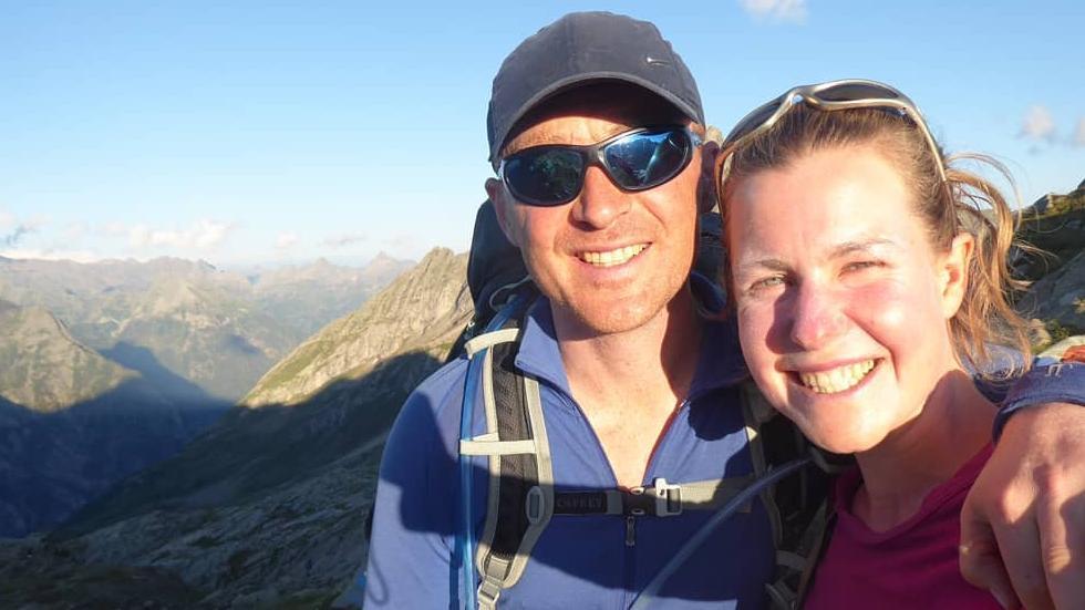 Esther Dingley dan Dan Colgate