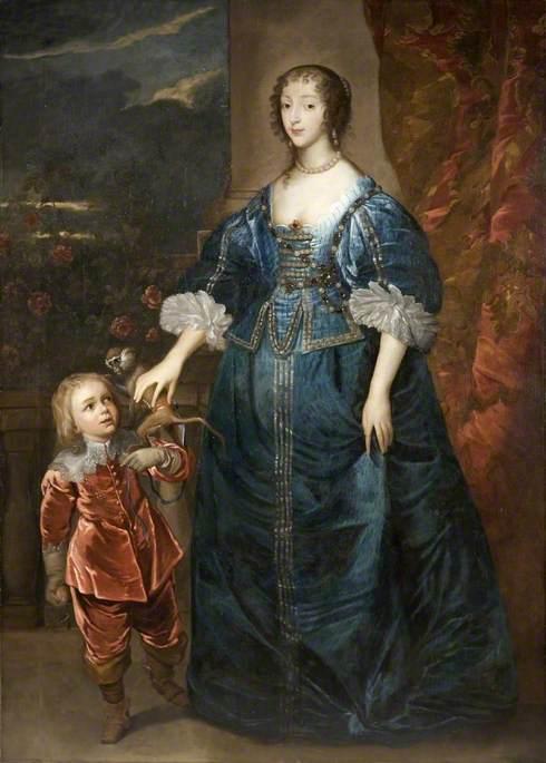 Ratu Henrietta Maria dan Jeffrey Hudson Sang Kurcaci