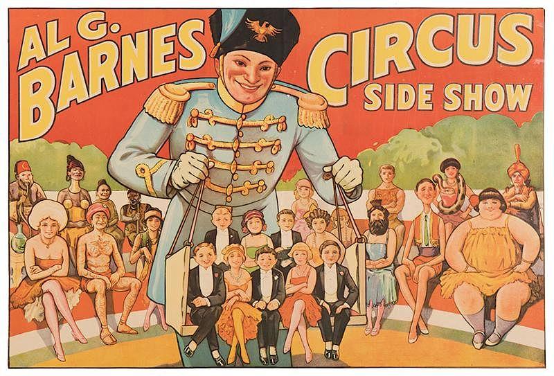 Al G. Barnes Circus pada tahun 1932
