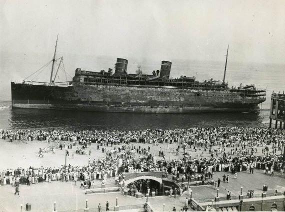 Kapal SS Morro Castle di Lepas Pantai