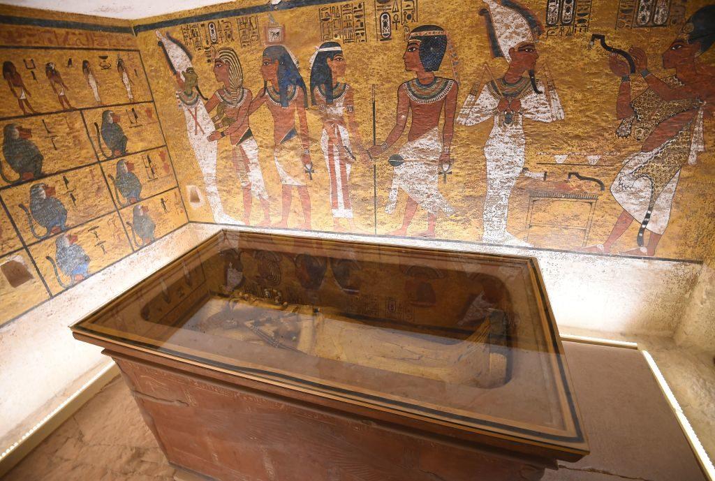 makam Raja Tutankhamun.