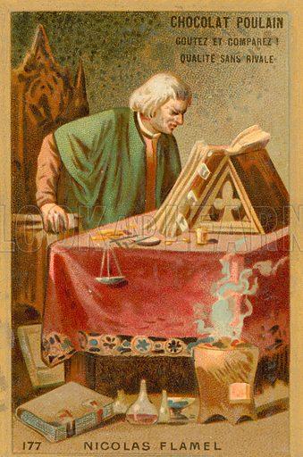 Nicolas Flamel, Alkemis Yang Hidup Abadi
