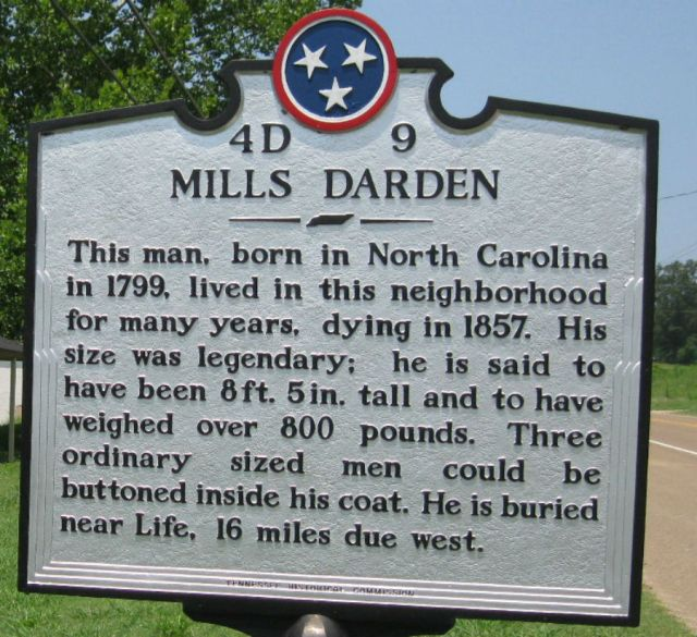Pemakaman Mills Darden