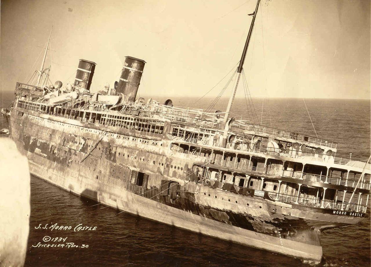 Pengangkatan Kapal SS Morro Castle