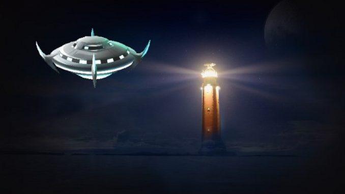 Pertemuan UFO di Mercusuar Isla de Lobos