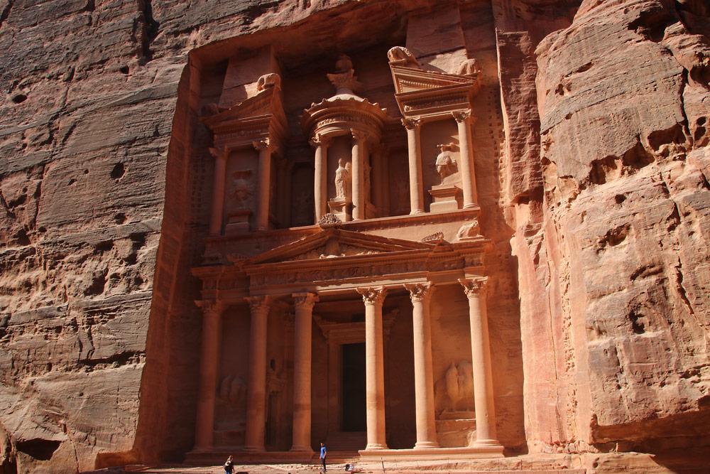 Situs Kuno Al-Khazneh Petra