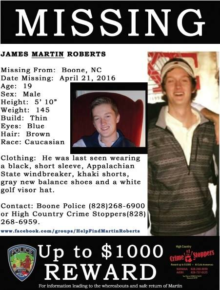 Kasus Hilangnya James Martin Roberts