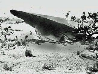 Kisah Aneh UFO Yang Mendarat di Bumi Tahun 1945